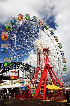 Luna Park Ferris Wheel by Cassandra NightThunder