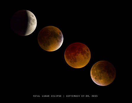 Lunar Eclipse 2015 by Andy Smetzer