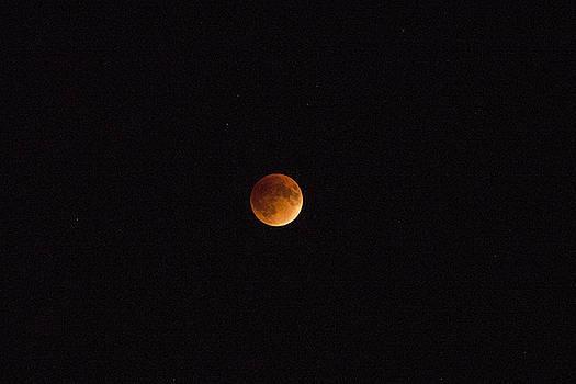 Lunar Eclipse 2015 by Samantha Boehnke