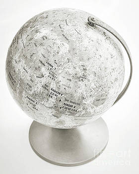 Lunar Moon Globe by Edward Fielding