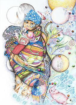 Lunas y Estrellas Perdidas- Sombra de Arreguin by Doug Johnson