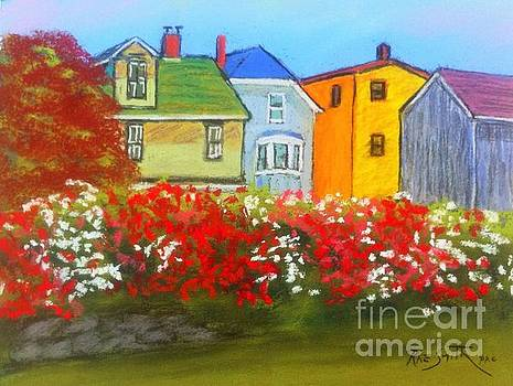 Lunenburg Roses by Rae  Smith PAC