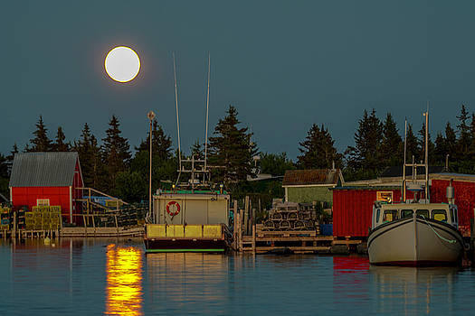 Lunenburg Thunder Moon  by Jim Austin Jimages