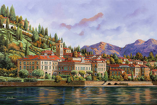 lungolago di Bellagio by Guido Borelli