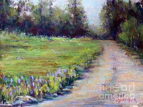 LUPINE Path by Joyce A Guariglia