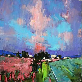 Lupines color by Anastasija Kraineva
