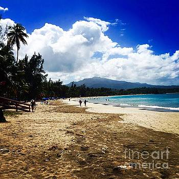 Luquillo Beach, Puerto Rico by The Art of Alice Terrill