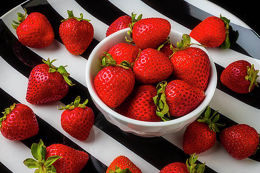 Luscious Strawberries by Garry Gay