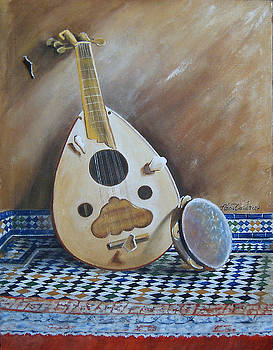 Lute by Med Abouzaid
