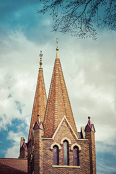 Lutheran Steeples by Betsy Armour
