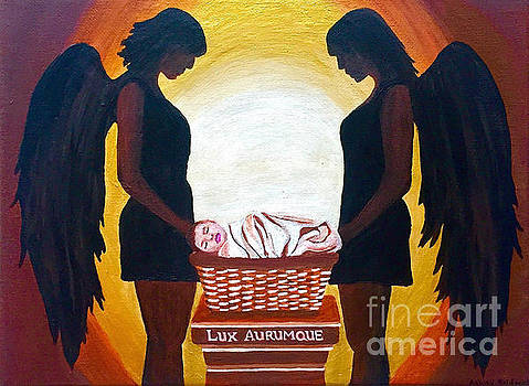 Lux Aurumque Light and Gold by Ashley Baldwin
