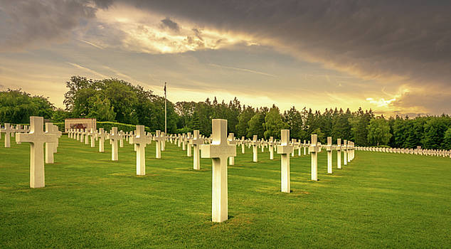 Luxembourg American Cemetery and Memorial by Andrew Matwijec