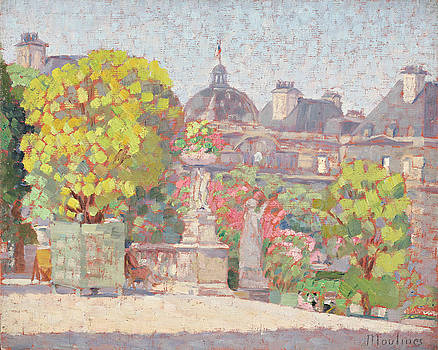 Luxembourg Garden by Ernest Moulines