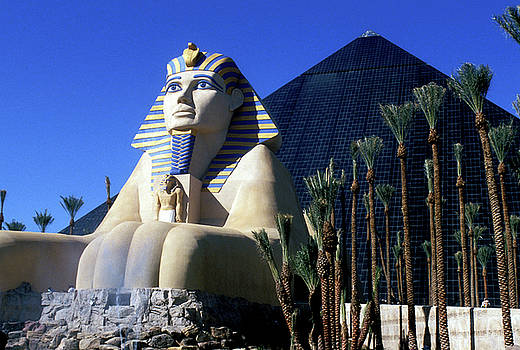 Luxor Hotel in Las Vegas by Carl Purcell