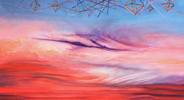 Luxurious Geometry on Sunset by Vincent Fink