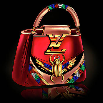 LV Bag Concept Art by Kenal Louis