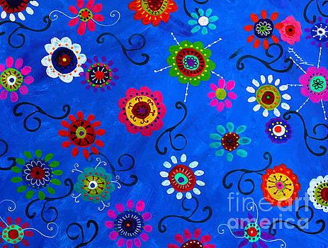 PRISTINE CARTERA TURKUS - LV WHIMSICAL FLOWERS I