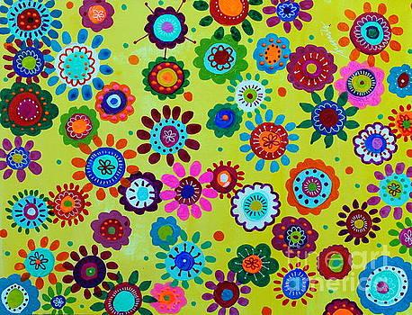 PRISTINE CARTERA TURKUS - LV WHIMSICAL FLOWERS II