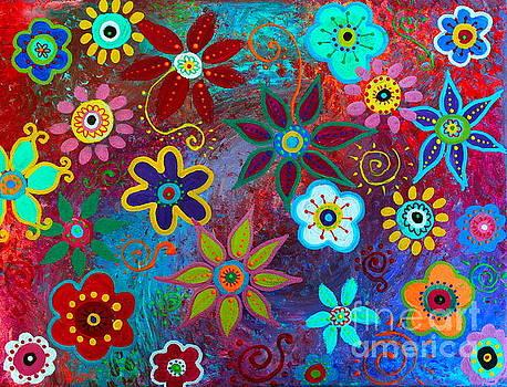 PRISTINE CARTERA TURKUS - LV WHIMSICAL FLOWERS IV
