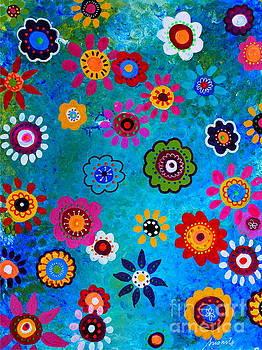 PRISTINE CARTERA TURKUS - LV WHIMSICAL FLOWERS V