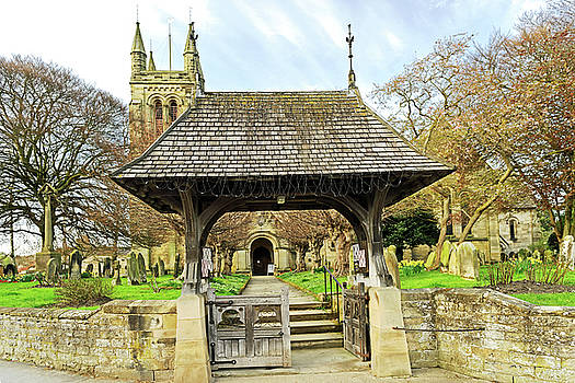 Lych Gate to All Saints Church - Helmsley by Rod Johnson