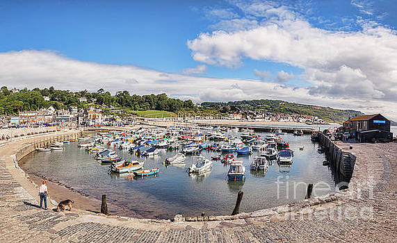 Lyme Regis, The Cobb and Harbour by Colin and Linda McKie