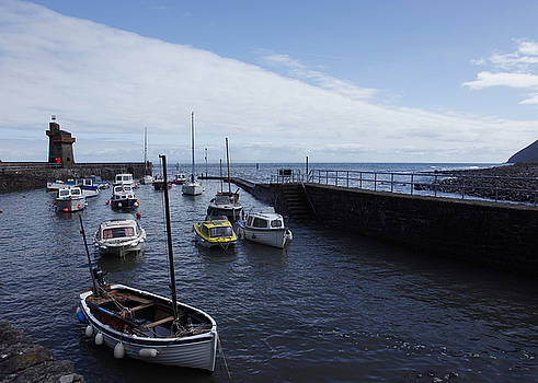 Lynmouth Harbour by Mike Finding