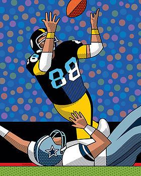 Ron Magnes - Lynn Swann Super Bowl X