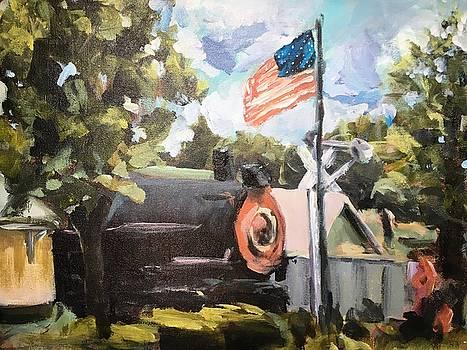 Lynnville Depot by Susan E Jones