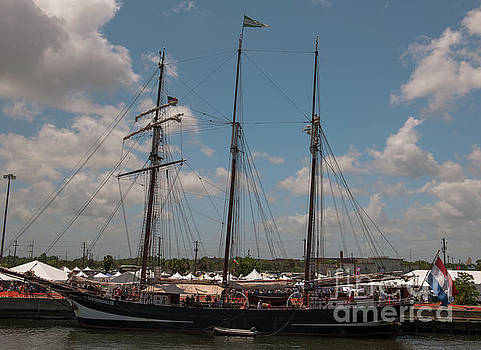 Oosterschelde Tall Ship by Dale Powell