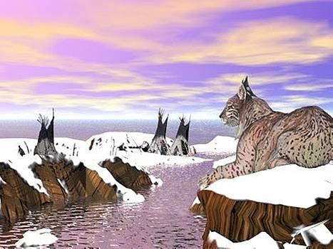 Lynx watcher render by Darren Cannell