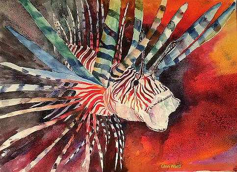 Lyon Fish Study by Glen Ward