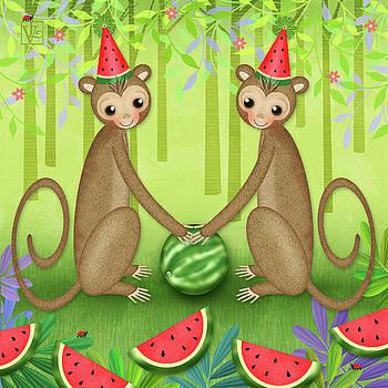 M is for Monkeys by Valerie Drake Lesiak