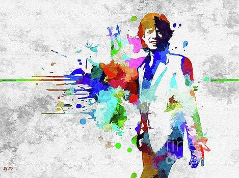 M. Jagger  by Daniel Janda