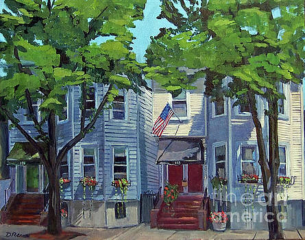 M st Afternoon by Deb Putnam