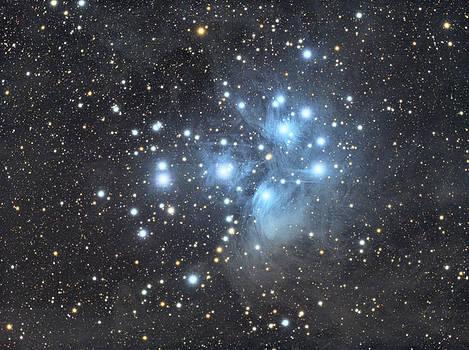 M45 - Pleiades by Dennis Sprinkle
