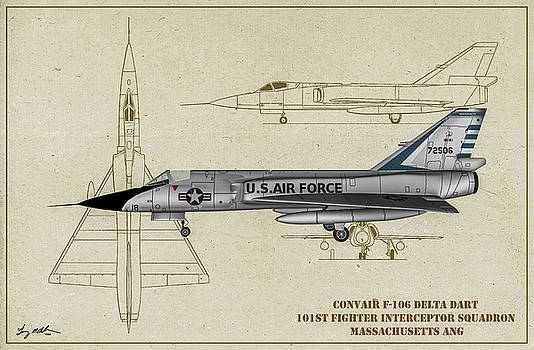 MA Delta Dart - Profile Art by Tommy Anderson