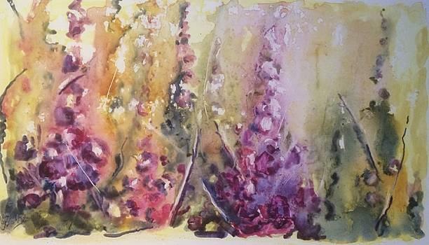 Garden flowers by Nelya Pinchuk