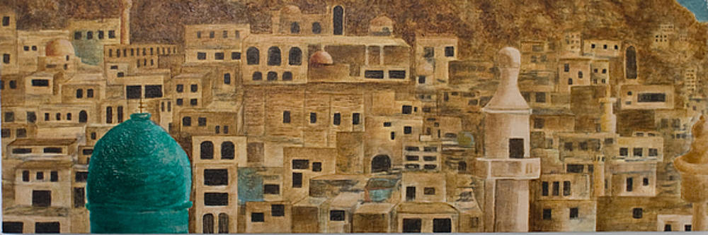 Maaloula Syria by Julia Collard