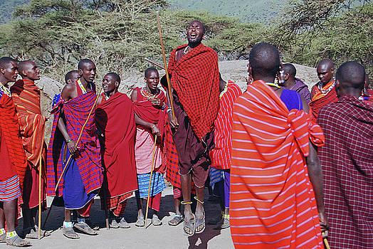 Harvey Barrison - Maasai Adumu Dance Take Two