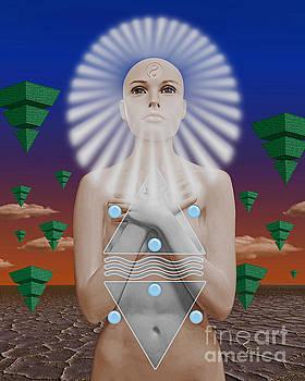 Maat Goddess Of Balance by Keith Dillon