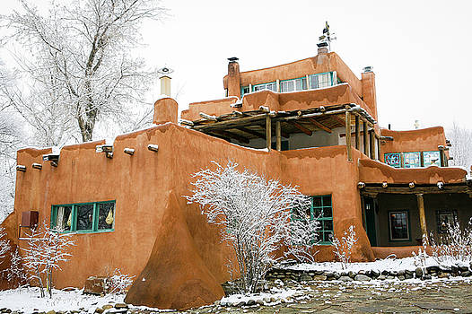 Mabel Luhan Dodge House 1 by Marilyn Hunt