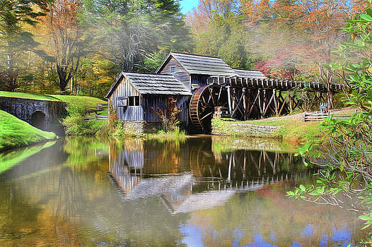 Mabry Grist Mill by Sharon Batdorf