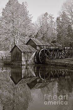 Mabry Mill - Meadows of Dan Virginia - Blue Ridge Parkway by Kerri Farley