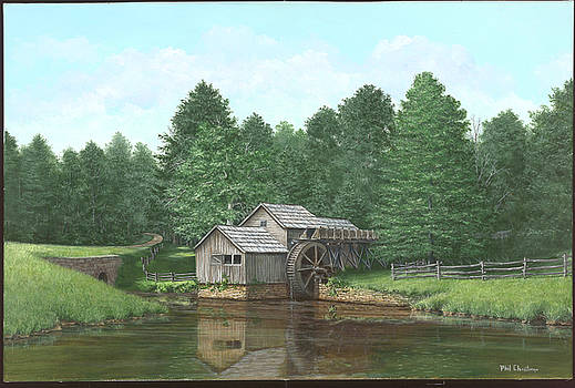 Mabry Mill Summer by Phil Christman