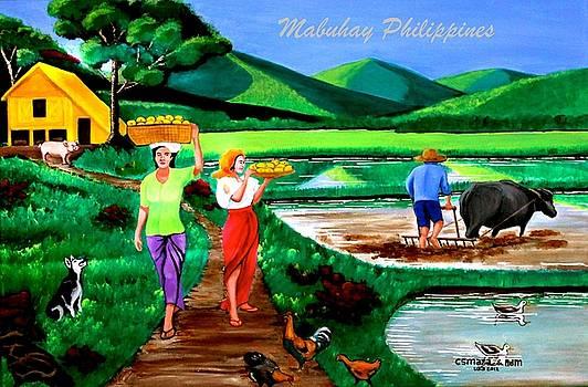 Mabuhay Philippines by Lorna Maza
