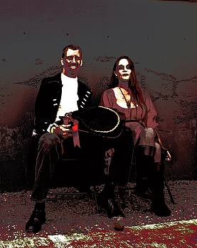 Macabre Couple by Katy Granger