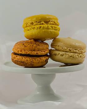 Macarons on a Pedestal by Stephanie Maatta Smith