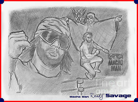 Chris  DelVecchio - Macho Man Randy Savage