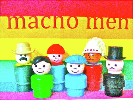 Macho Men by Ricky Sencion